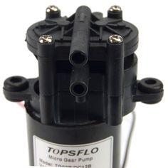 12v DC Motor Pump - intake view