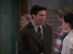 Ross and Monica's fake British accents, and Rachel Green's fake Indian accent! Hilarious!!!
