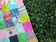 Cotton & Steel picnic blanket