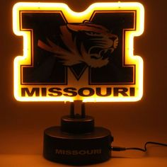 Missouri Tigers Team Logo Neon Light - $59.99