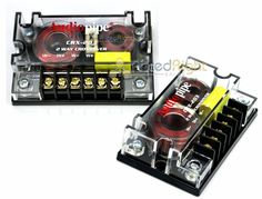 2 Audiopipe Passive 2 Way Car Audio Crossover / Two-Way Speaker and Tweeter 300W #AudioPipe