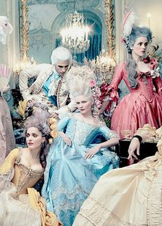rococo marie antoinette sofia coppola costume design period movie milena canonero asocd asocd: ma that last link is empty but i'll add specific costumes analysis tomorrow! this movie has A LOT of costumes for marie antoinette only i included most of the Kirsten Dunst Marie Antoinette, Marie Antoinette Movie, Marie Antoinette Costume, Annie Leibovitz, Rococo Fashion, Sofia Coppola, 18th Century Fashion, Movie Costumes, Versailles