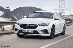 Opel Insignia OPC II (render)