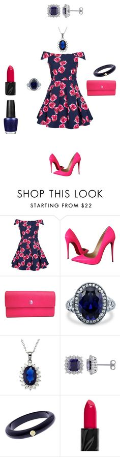 """""""Maawa and Yad"""" by rose-wilya ❤ liked on Polyvore featuring AX Paris, Christian Louboutin, Chanel, BERRICLE, La Preciosa, Ted Baker, OPI and date"""