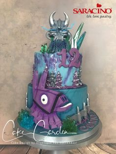 Fortnite Cake - cake by Cake Garden Houten