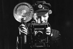 Airwoman E.F. Nightingale, served as a Canadian military photographer during the Second World War