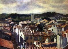 The Roofs of Cassis Zinaida Serebriakova - 1928