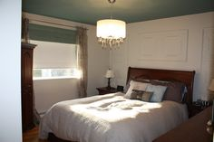 Chambre à coucher réaliser par une de nos designer! décoration, venez nous voir pour de nouveaux projets. Le jardin d'Andrée-Anne, www.lejardin.ca Home Decor, Furniture, Decor, Bed