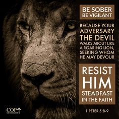 Be sober, be vigilant; because your adversary the devil walks about like a roaring lion, seeking whom he may devour. Resist him, steadfast in the faith, knowing that the same sufferings are experienced by your brotherhood in the world. 1 Peter 5:8-9 #coptorthodox #authorityinchrist #authorityoverevil #besoberbevigilant #coptic #1peter5 #1peter5v8to9 #orthodox #bible #bibleverse