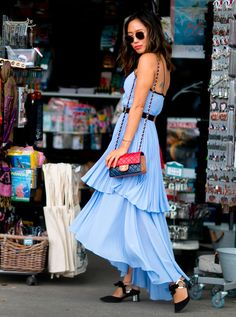 Volantes - street style from paris haute couture fall 2016 fashion week - July 2016
