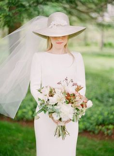 nothing says kentucky derby more than a bridal brimmed hat