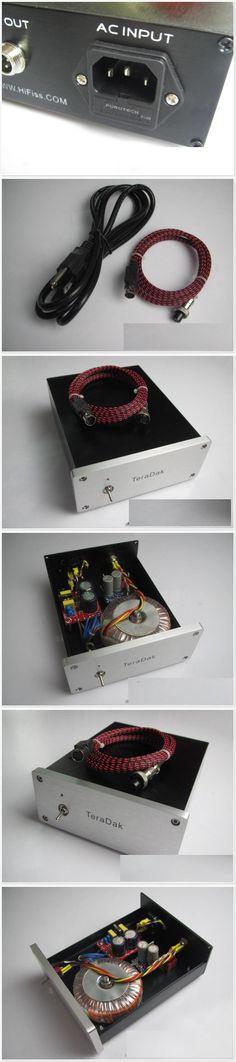 TeraDak DC-30W 15V / 1A Audiolab M-DAC fever dedicated linear power supply