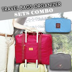 [S$7.90][funnymade]Travel Bags Organizer Sets Combo Toiletry Cosmetic Make Up Pouch Passport Luggage Strap Cabin Wallet For Women Local Seller Singapore Underwear Tidy Bra Clothes Clutch Case Car Deal 5/6pcs in 1