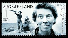 Tove Janssonille juhlapostimerkit | Yle Uutiset | yle.fi