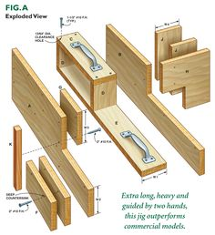 By Tom Caspar Mortise and tenon joinery is the heart of many classic furniture projects. It's an incredibly strong, time-tested method of connecting boards. Woodworking Jigsaw, Woodworking Guide, Woodworking Joints, Woodworking Magazine, Woodworking Workshop, Woodworking Projects Diy, Popular Woodworking, Custom Woodworking, Woodworking Furniture