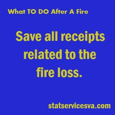 Do you know what to do if you have a fire in your home? #housefire #fire #statservices