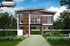Md15 modern loft pinterest for Traditionelles thai haus
