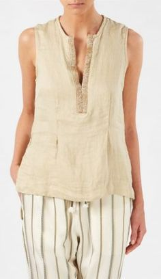 ottodame-nude-sleeveless-embellished-top-beige-product-4-611560162-normal Embellished Top, Luxury Fashion, Nude, Beige, Shopping, Tops, Women, Ash Beige, Classy Fashion