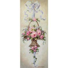Christie Repasy Marche Aux Fleurs Canvas Giclee