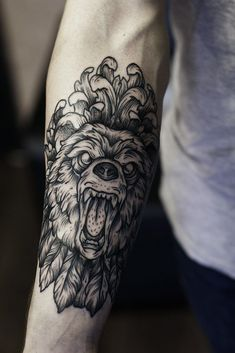 lion tattoo by Family Ink Tattoo