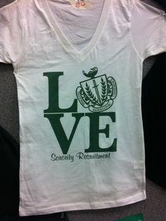 Theme for 2012 Formal Recruitment at WSU! Phi Sigma Sigma, Delta Phi Epsilon, Alpha Omicron Pi, Pi Beta Phi, Kappa Alpha Theta, Alpha Chi Omega, Kappa Delta, Sorority Shirts, Sorority Life