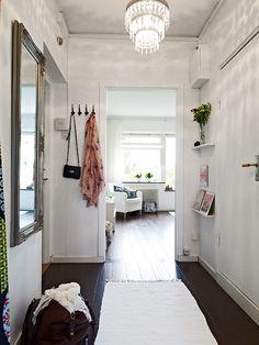 47,5 m² de decoración nórdica fresca y sencilla