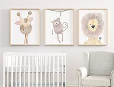 Safari Nursery Prints Animal Nursery Wall Art Nursery Print | Etsy Safari Nursery, Animal Nursery, Nursery Prints, Nursery Wall Art, Nursery Decor, Baby Room Diy, Baby Room Decor, Nursery Pictures, Kid Decor