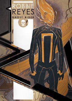 All-New Ghost Rider Robbie Reyes edit fan art by timdrke!