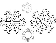 Snowflake Coloring Pages For Kids #5766 | Pics to Color