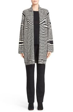 Missoni Space Dye Knit Wool Cardigan