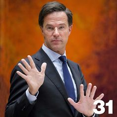 Mark Rutte | by algemeendagblad
