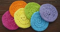 Crochet Circles (mini scrubbies, embellishments, etc) from Jodi's Craft Emporium