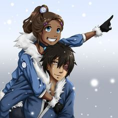 Zuko and Katara - Zuko and Katara Fan Art (8534768) - Fanpop