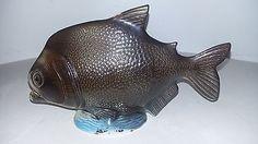 ANTIQUE-FRENCH-MAJOLICA-FISH-AMUSANT-POISSON-EN-BARBOTINE