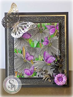 Created by Sandi Gough for #crafterscompanion using #spectrumnoir coloring goodies