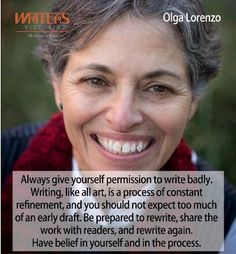 Olga Lorenzo at Writers Victoria https://writersvictoria.org.au/civicrm/event/info?reset=1&id=104 #writingtips