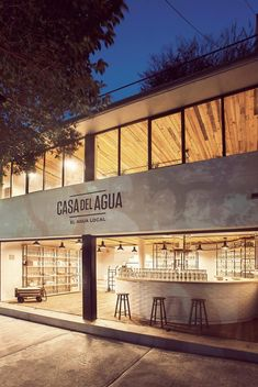 Casa del Agua diseño de Héctor Esrawe e Ignacio Cadena, México