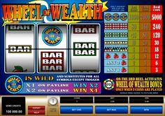 Wheel of Wealth se on valtava ja hyvää Microgaming online kolikkopeli! Tässä pelissä on hyvää mahdolisuus kaikkille pelajalle voitta vain suuret voittot omatietokonella. Kokelle pelata tämä hyvä kolikkopeli missä on erilaiset bonuspelit, 3 rullat ja 1 voittolinja, ja näet kuinka helppo se on!