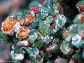 Chalcosiderite             from  Redruth, Cornwall, England