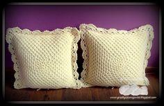poduszki na szydełku