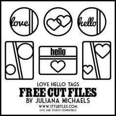 Free 'Hello' Cut Files