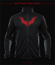 superhero merchandise - This superhero merchandise will make you feel strong enough to take on any villain. The athletic jackets were designed by DeviantArt user seventhir...
