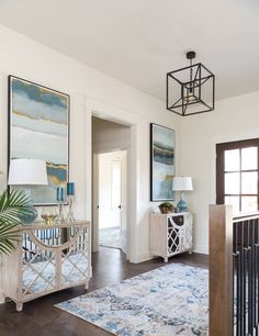 beautiful foyer by Studio Steidley