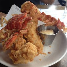 Fried Lobster Tail, Grilled Lobster, Crab And Lobster, Lobster Tails, Fish And Seafood, Lobster Recipes, Fish Recipes, Seafood Recipes, Recipies