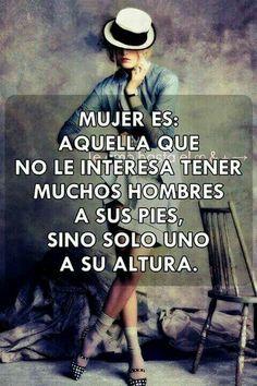 Mujer es...