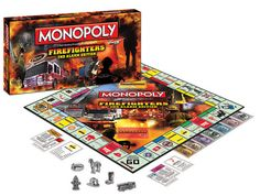 Order Firefighter MONOPOLY 2nd Edition, Save 10% w/code preorder on checkout