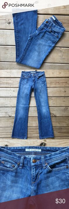 "Joe's Jeans Distressed Provacateur Boot Cut Jeans✨ Considered one of the best fitting boot cut jeans! Good used condition. Waist in the front is 14"". Inseam is 30"". Offers are welcome. ☺️ Joe's Jeans Jeans Boot Cut"