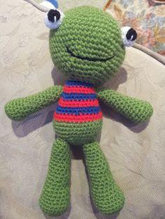 Mr Freddy the Frog