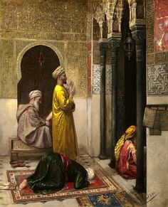 A MOMENT OF PRAYER - by RUDOLF WEISSE