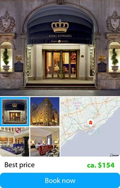 The Omni King Edward (Toronto, Canada) – Book this hotel at the cheapest price on sefibo.